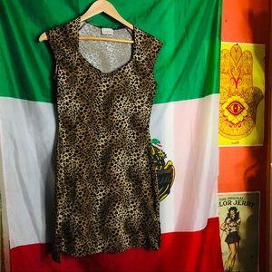 Leopard print mini dress ✨🖤